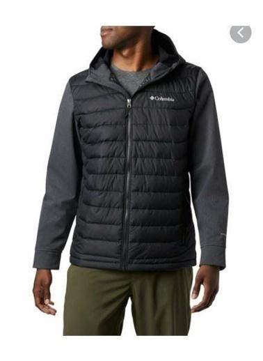 Columbia Columbia Powder Lite Hybrid Erkek Mont  Siyah